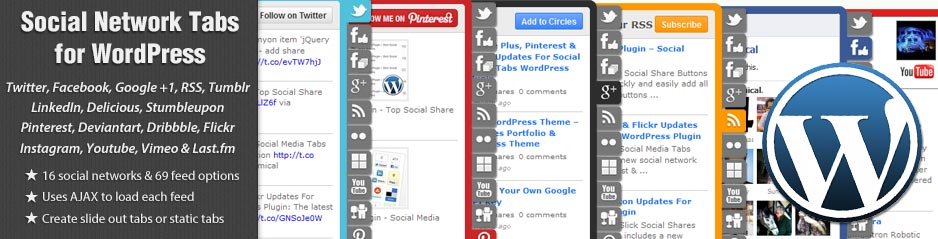 WordPress Social Network Tabs Plugin