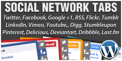 Social Network Tabs For WordPress Plugin