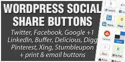WordPress Social Share Buttons Plugin