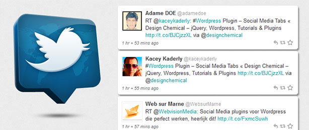 jQuery Twitter Feed Plugin Tutorial